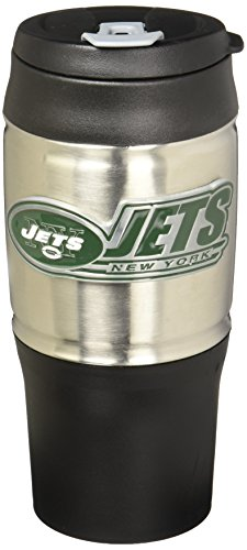 NFL New York Jets 18-Ounce Travel Mug