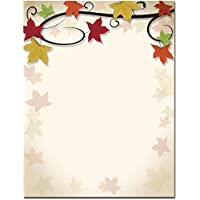 Autumn Vine Letterhead Laser & Inkjet Printer Paper, 100 pack