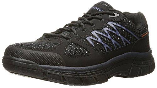 Esd Work Shoes (Skechers Work Men's Conroe Dierks Work Shoe,Black,12 M US)