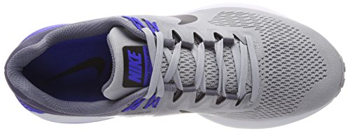Black Running Air Grey Uomo ligh Multicolore Nike 003 21 Wolf Zoom Structure Scarpe gqwFHHXvx