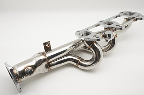 Autobahn88 Stainless Steel Exhaust Header Manifold, for Mazda RX-8 SE3P 13B-MSP Rotary ()