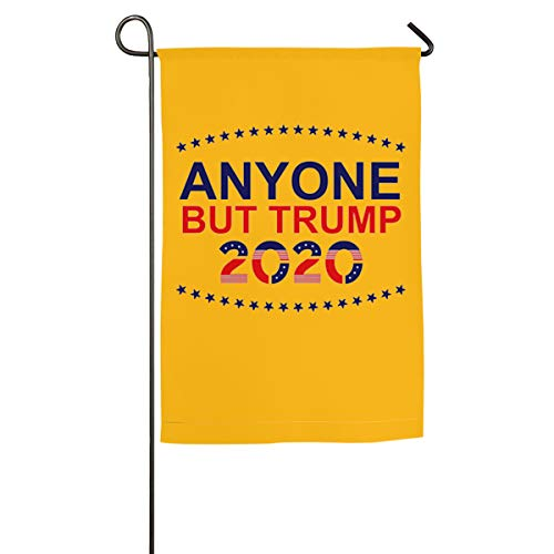 FGBFLAG Anyone But Trump 2002 Garden Flag- 18 X 12 Inch Outdoor Holiday Flags ()