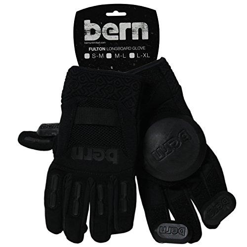 BERN Longboard Glove (Black, Medium)