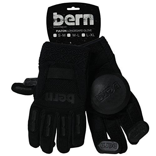 - Bern Longboard Glove (Black, Medium)