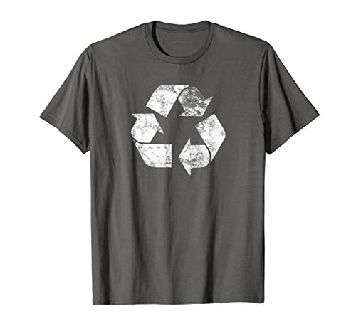 Earth Day Shirt Recycle Logo Vintage Recycling T-Shirt Gift
