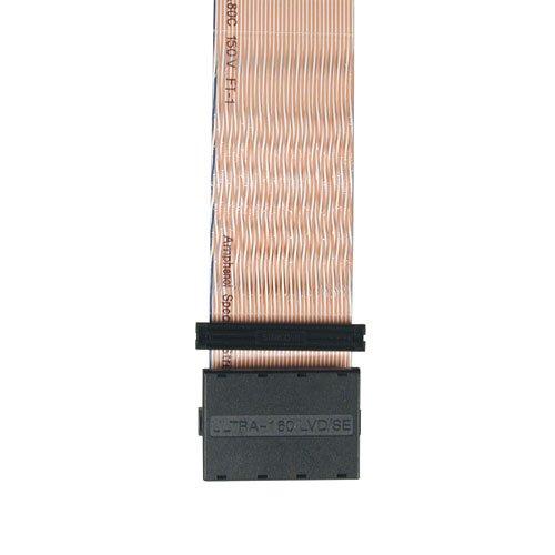 (Tripp Lite S052-21I Internal SCSI 160 2-Drive LVD/SE Ribbon Cable w Terminator 3xHD68M - 21 in)