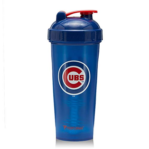 - PerfectShaker Performa - MLB Collection, Best Leak Free Bottle with Actionrod Mixing Technology for Your Sports & Fitness Needs! Dishwasher and Shatter Proof (Cubs)