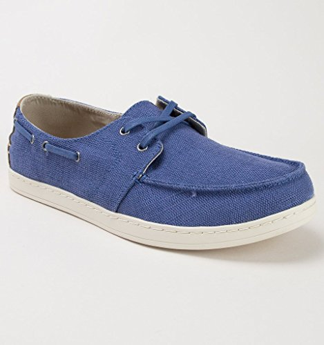 TOMS Men's Culver Lace-Up Cadet Blue Heritage Canvas 11 D -