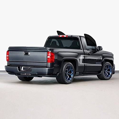 Tint Kits (Computer Cut) For All Two Door Trucks (C. Front Windows) (Window 2014 Silverado Tint)
