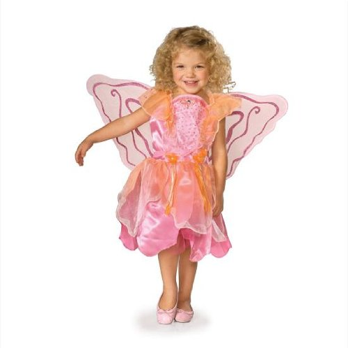 Pink Pixie Child Costume - Toddler - Pixie Costume Hair