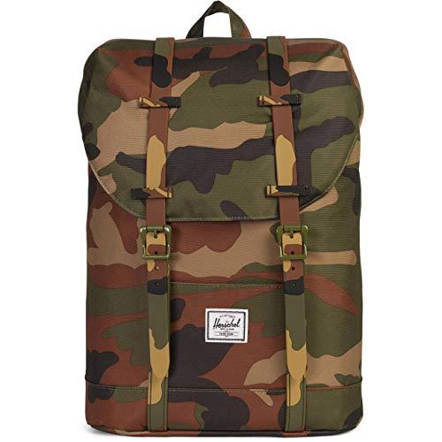 (Herschel Kids' Retreat Youth Children's Backpack, Woodland Camo, One Size)
