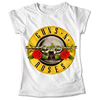 Blusa Rock Colores Playera Estampado Guns N Roses #023