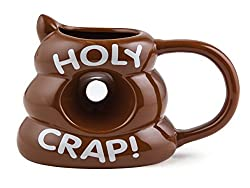Bigmouth Inc Holy Crap Mug