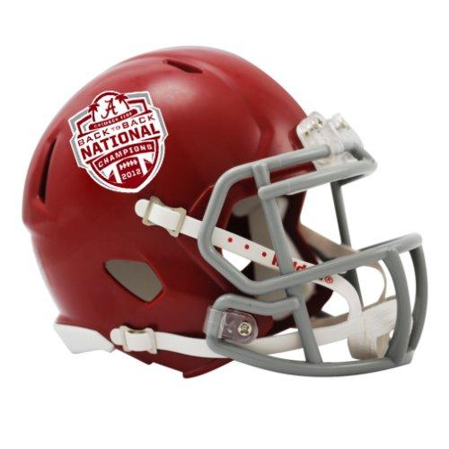UPC 095855520827, NCAA Riddell Alabama Crimson Tide 2012 BCS National Champions Speed Mini Replica Helmet - Crimson ()