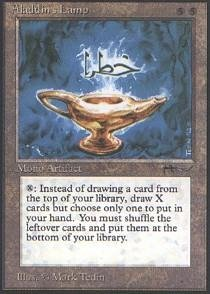 Magic: the Gathering - Aladdin's Lamp - Arabian Nights