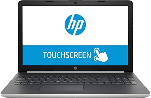 New HP Pavilion 15.6 inch HD WLED-Backlit Touchscreen Flagship Laptop PC, Latest Intel Quad-Core i5-8250U up to 3.40 GHz, 8GB DDR4, 256GB SSD, DVDRW, USB 3.0, Webcam, Bluetooth, HDMI, Windows 10 Home