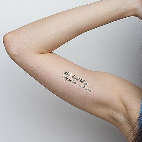 Resiliencia tatuaje