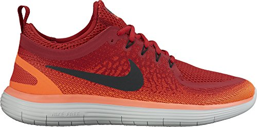 7e97a7acce298 Nike Men s Free Rn Distance 2 Gym Red Black Max Orange Running Shoe 9.5 Men  US - Buy Online in Oman.
