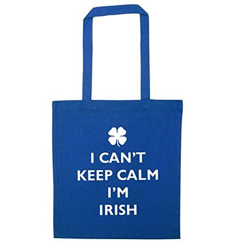 can't Blue I can't bag I'm calm keep tote Irish I HEdqdgwz