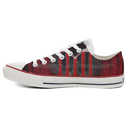 Converse Schuhe Customized Low Slim Star Milan personalisierte All Forza Schuhe Handwerk rwxZrpFU