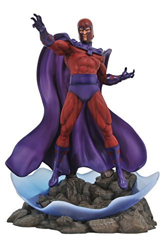 - DIAMOND SELECT TOYS Marvel Premier Collection: Magneto Resin Statue