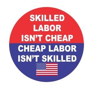 Car & Truck Parts Car & Truck Decals, Emblems & License Frames Skilled Labor Isn't Cheap Funny Hard Hat Vinyl Sticker Decal Union Laborer Badge