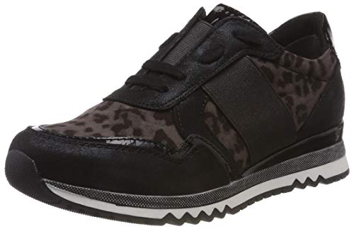 Multi Co Negro Para Tozzi Zapatillas Marco 075 Mujer black 31 23750 FR8SwAq
