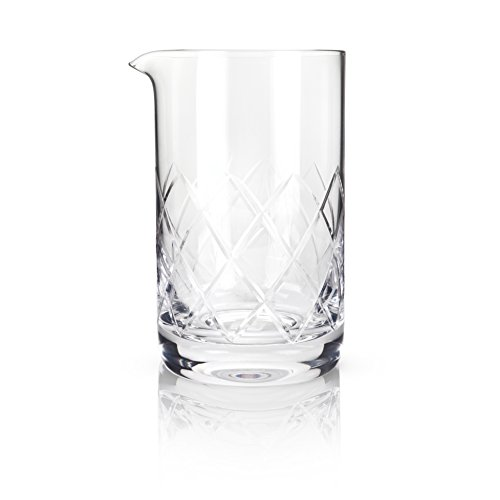Large Product Image of Professional Extra Large Crystal Bartender Mixing Glass by Viski (800 ml)