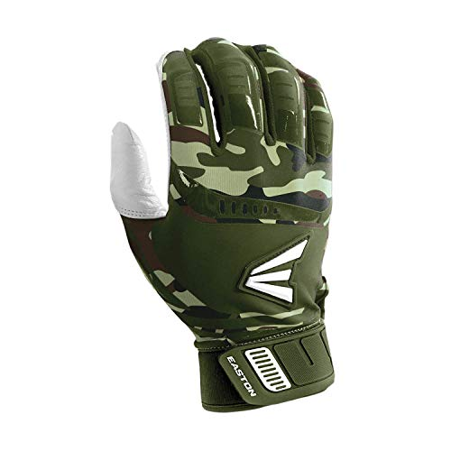 Easton Walk-Off Fast Pitch Batting Glove, Adult, Large, ARMY CAMO