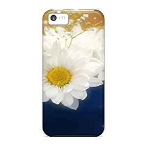 BestSellerWen iPhone 5 5s Hard Back With Bumper Silicone Gel Tpu Case Cover Flowers In Cup