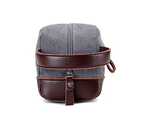 Toned Fun VogueZone009 Evening Work Gray CCABO181369 Clutch Canvas Women's Two Purse Bag UwXq1Xt