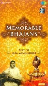 Memorable Bhajans - Best Of Lata mangeshkar Audio 5 CD Set