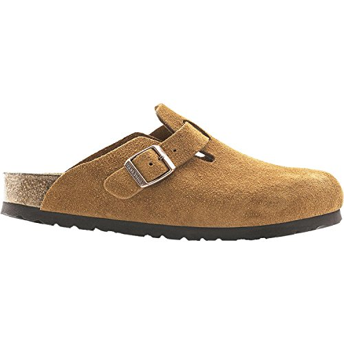 Birkenstock Women's Boston Soft Footbed Clog Mink Size 41 M EU
