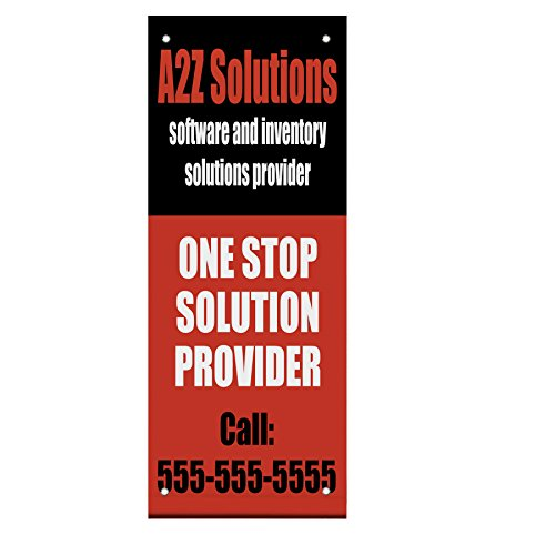 A2Z Solutions Software Inventory Phone Double Sided Verti...