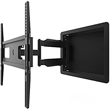 Amazon Com In Wall Recessed Full Motion Tv Mount With