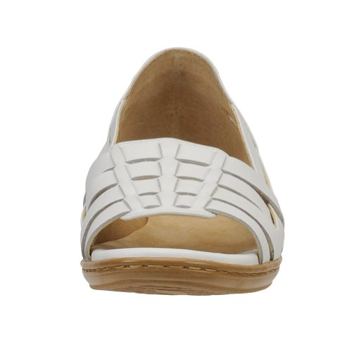 Softspots Sandal Hugh Women's White Leather nxqACYwq