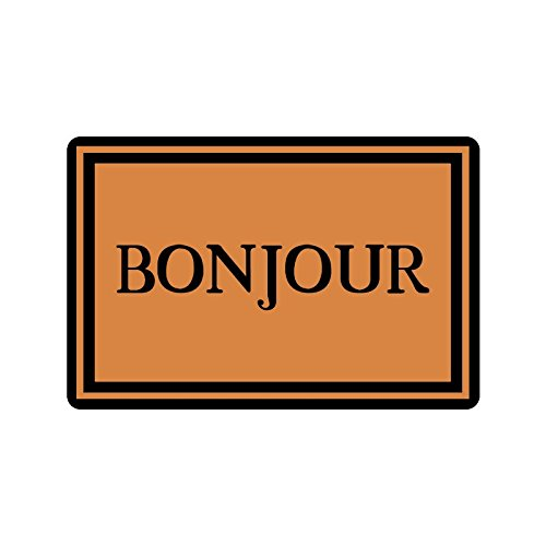 Bonjour Indoor / Outdoor Upholstery Fabric Doormat