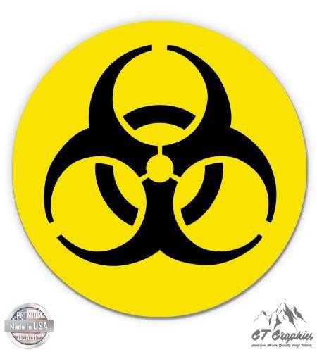 Danger Hard Case (Nuclear Circle Danger Warning Radioactive Yellow - 3