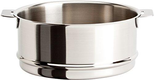 Cristel Strate ECV14QL Steamer, 1 quart, Silver