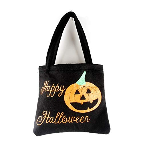 - Baguio-Store - 1PC Pumpkin/Spider Smile Bag Children Kids Candy Bag Halloween Holiday Party Decor