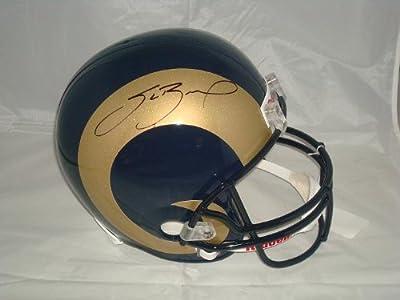 Sam Bradford Signed St. Louis Rams Helmet, Tristar Authentic, Picture