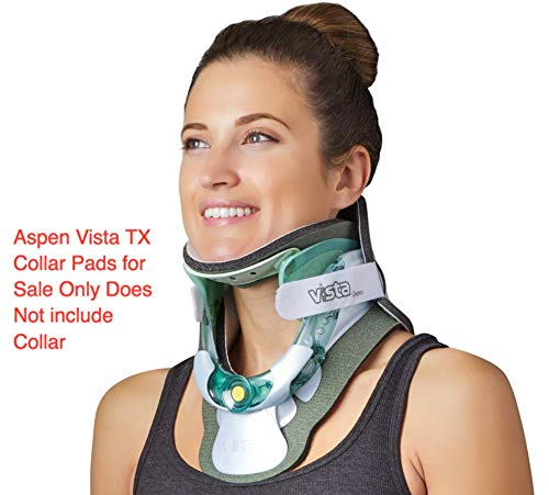 (Replacement Pads - Aspen Vista TX Cervical Collar Neck Brace for Neck Pain Relief and Neck Support)