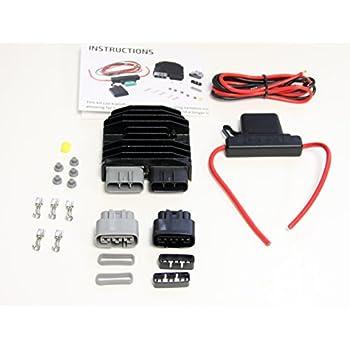 Regulator Rectifier Connector Kit for Kawasaki Concours 14 ZX-14R 2004-2017 ZX-14 Ninja ZX-10R