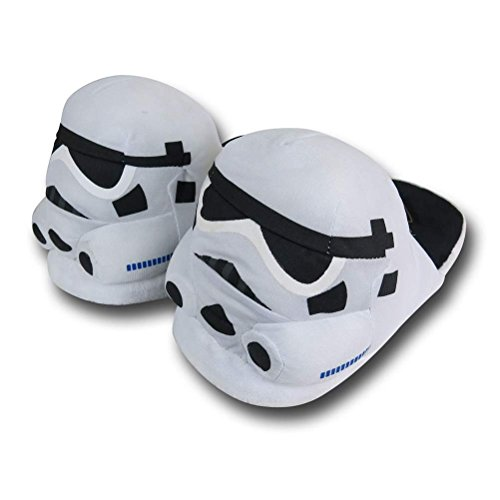 Star Wars Stormtrooper Slippers- Large White
