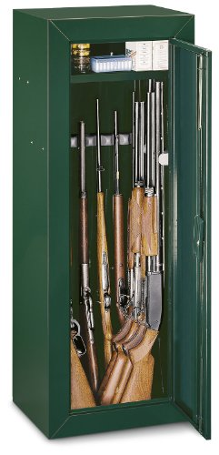 Stack-On Gun Cabinet with Pistol Box