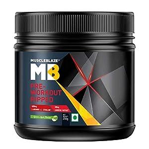 MuscleBlaze Pre-Workout Ripped-250g (Green Apple)