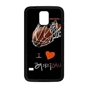 Custom Cover Case with Hard Shell Protection for SamSung Galaxy S5 I9600 case with basketball lxa#244619 Kimberly Kurzendoerfer