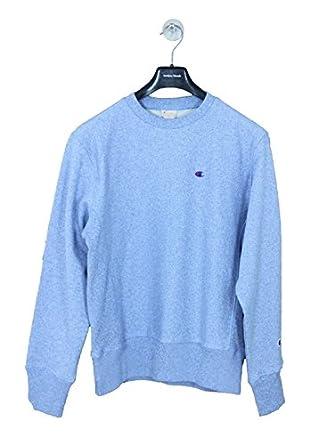 0235d51f Champion Reverse Weave Classic Crew Sweat - Blue XXL Blue: Amazon.co ...
