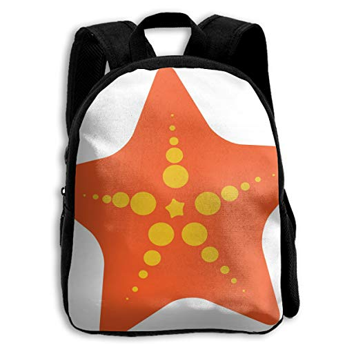 BINGZHAO Top Sea Star Clipart File Free School Bag Bookbag Backpack Daypack for Kids Girls Boys - Free Kitchen Clipart