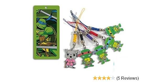 Ninja Turtle TMNT 5 pc metal charm